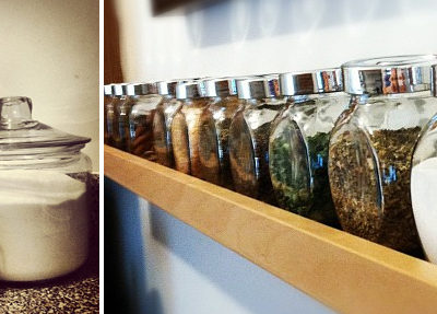 An Obsession with Glass {Jars}
