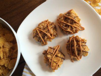 Corn Flake Drop No-Bake Cookies