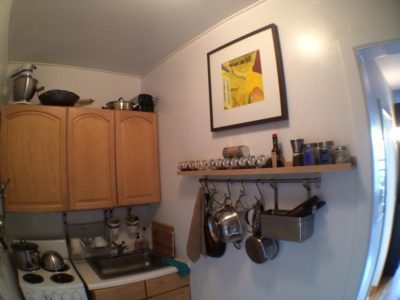 Making a New York Tiny Kitchen Work
