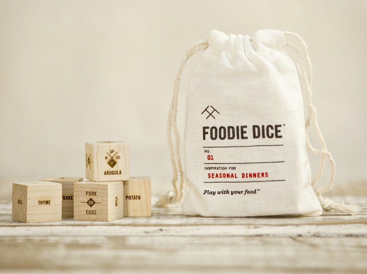 Foodie Dice Seasonal Dinners Pouch